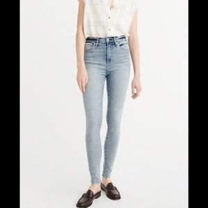 Abercrombie and Fitch skinny jeans!